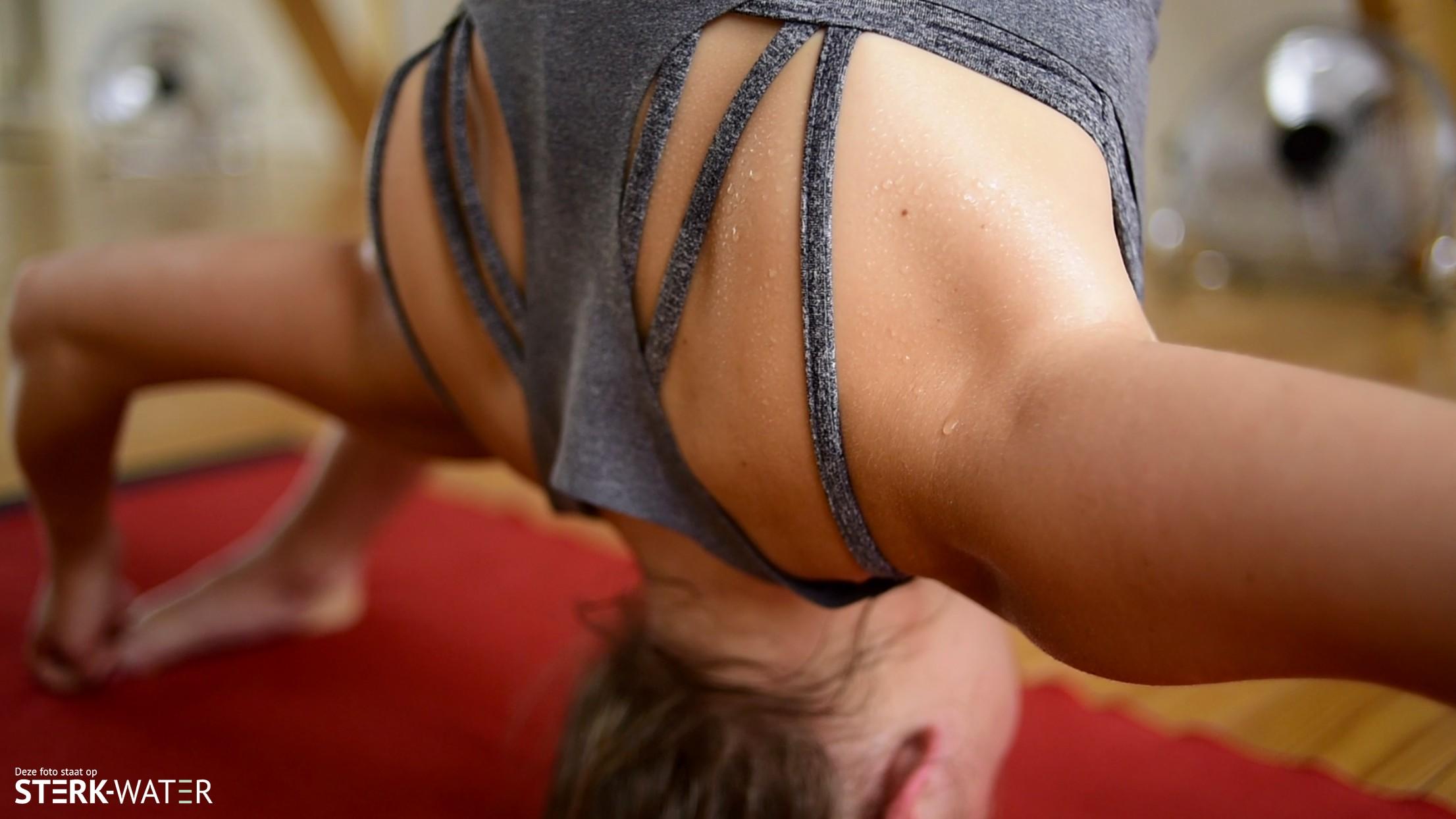 Voorkom blessures tijdens hot yoga